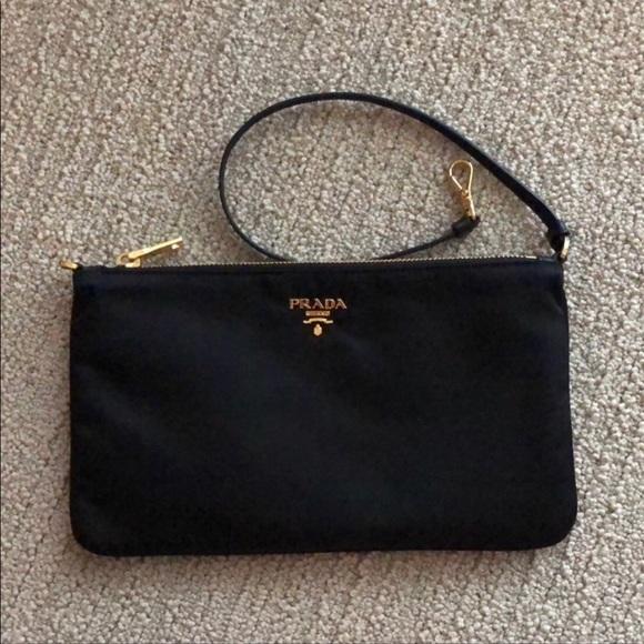 717bfa7a1efc Prada Bags | Nero Tessuto Pouch | Poshmark